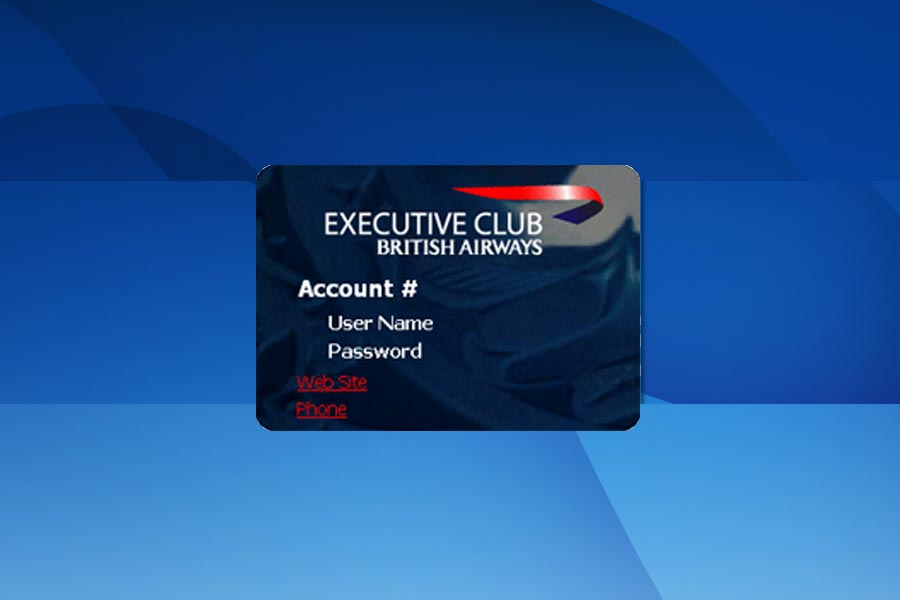 frequent flyer card british airways - Dolap.magnetband.co